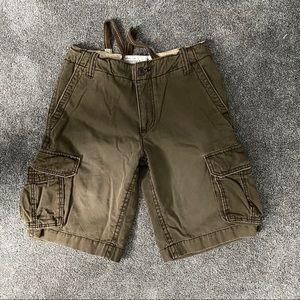 Aeropostale Authentic Brand Cargo Shorts Sz 28